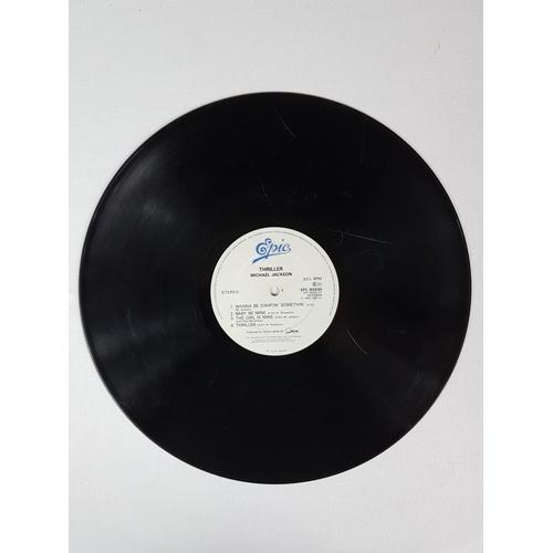 36 - Michael Jackson Thriller Twelve Inch Vinyl Record Album, Epic Records EPC85930....