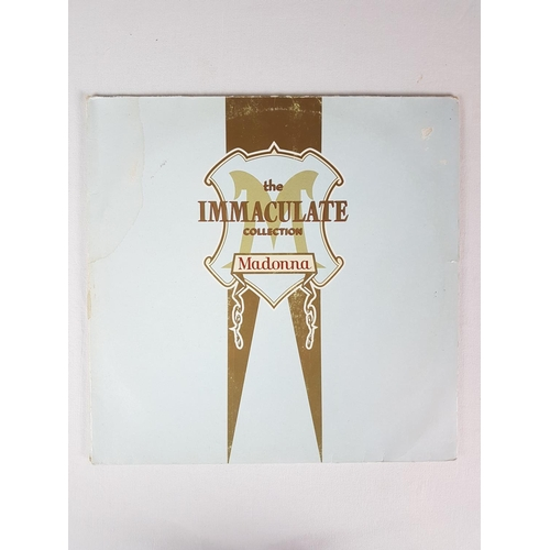 44 - Madonna The Immaculate Collection Twelve Inch Vinyl Record Album, Sire Records WX370....
