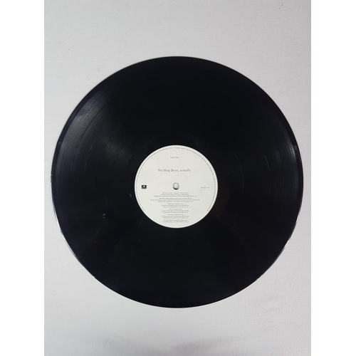 46 - Pet Shop Boys Actually Twelve Inch Vinyl Record Album, Parlophone EMI Records PCSD104....