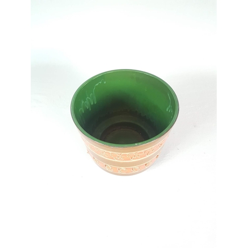 55 - A Mid Century German Pottery Planter - 21 Centimeters In Diameter....