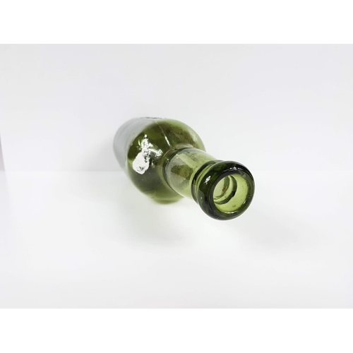 3 - A Victorian Embossed Green Glass Boddington's Strangeways Manchester Beer Bottle - No Chips Or Crack...