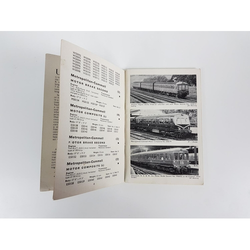 36 - Ian Allan Abc British Railways Diesel Multiple Units Book....