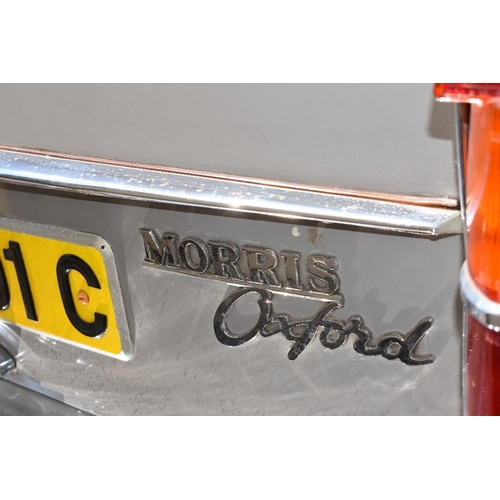 116 - A 1965 Morris Oxford Mk VI saloon, registration number CMW 201C, chassis number M-HS6D165188, engine...