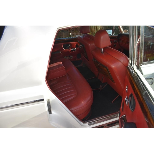 119 - A 1981 Rolls-Royce Silver Shadow II, registration number HTN 737W, pearlescent white. The revised Sh...