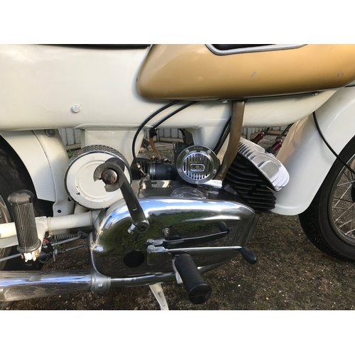 49 - EXTRA LOT:  A 1962 Ariel Arrow Super Sports, registration number 707 KUO, frame number T25934G, engi...