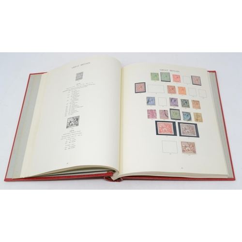 16 - Assorted GB stamps, in a Windsor album...