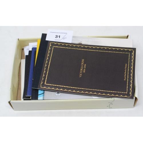 31 - Twenty Royal Mail prestige booklets...