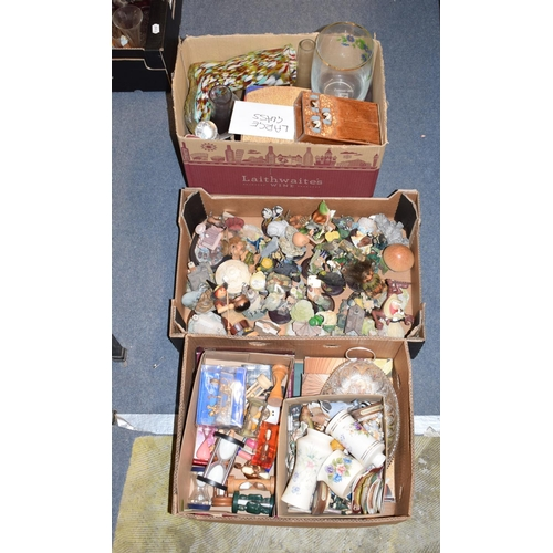 449 - Assorted ceramics, glass and items (11 boxes)...