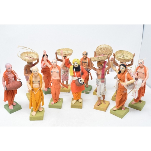 442 - Assorted Indian terracotta figures (qty)...