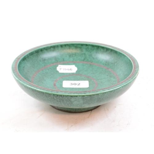 302 - A Gustavsberg Argenta bowl, 1094, 18 cm diameter...