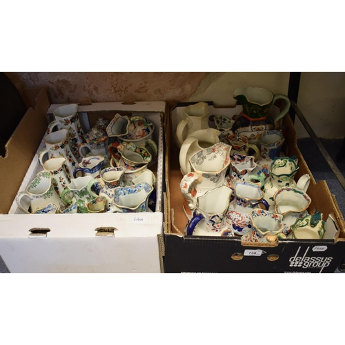 738 - Assorted Mason's Ironstone jugs (2 boxes)...