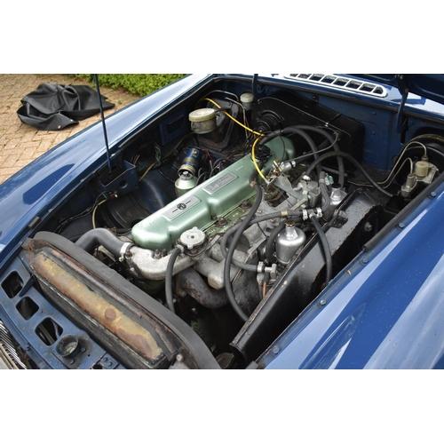 36 - A 1969 MG C roadster, registration number VFH 536G, chassis number GCN1/7134G, engine number 29G/RU/...