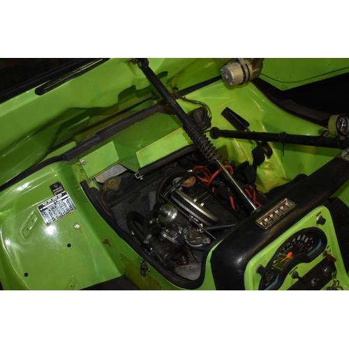 17 - A 1972 Bond Bug 700ES, registration number YTA 181L, chassis number BB61884, Lime green. The charism...