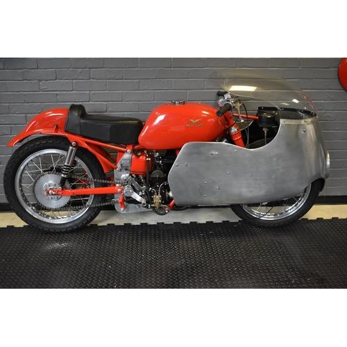 121 - The 1952 ex-Arthur Wheeler 1954 250 Italian GP winning Moto Guzzi Gambalunghino, unregistered, frame...