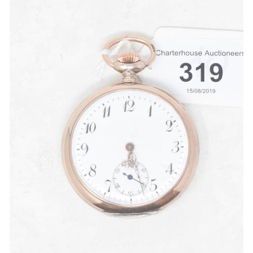 319 - A Phenix open face pocket watch...