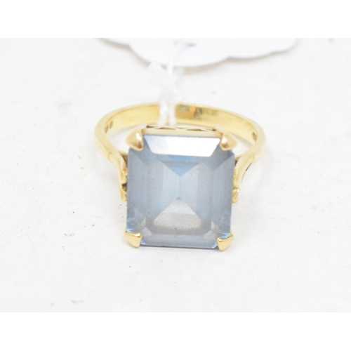 336 - **Revised estimate** An 18ct gold cocktail ring, approx. ring size S...