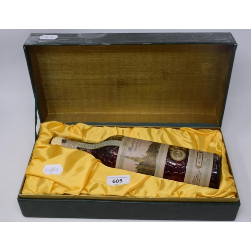 605 - A bottle of Mandarine Napoleon Grande Cuvee du Millenaire, 1979, No 01182, cased...