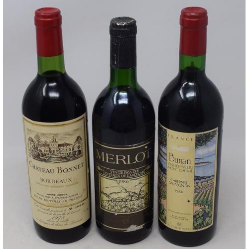 612 - Six bottles of Chateau Lamothe de Haux Bordeaux, 2010, and three other bottles (9)...