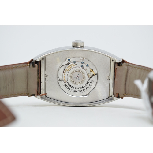 282 - A gentleman's stainless steel Franck Muller Casablanca automatic wristwatch, tenth anniversary, No 9...