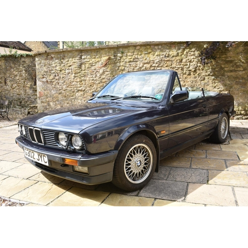15 - A 1989 BMW 325i (E30) cabriolet M Sport automatic, registration number G302 JYC, chassis number WBAB...