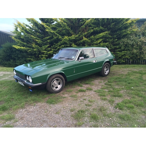 18 - A 1979 Reliant Scimitar GTE SE6A, registration number BPE 820T, chassis number 8M61/18204617, green....