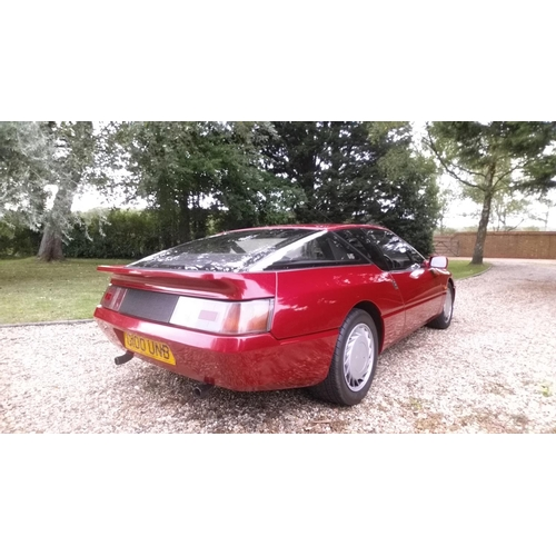 20 - A 1990 Renault Alpine GTA V6, registration number G100 UNB, red. Introduced in 1984, the GTA was the...