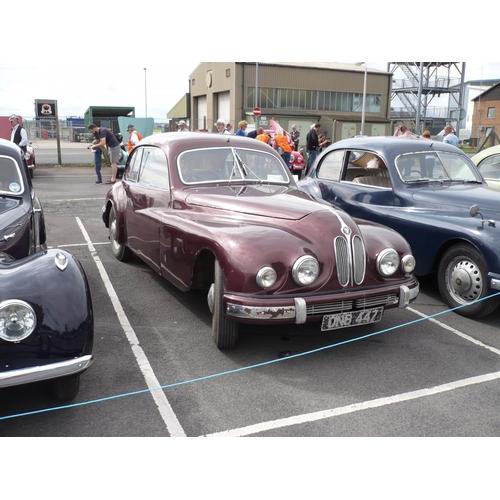 21 - A 1953 Bristol 403, registration number ONB 447, chassis number 403/1417, engine number 100A/3136, m...