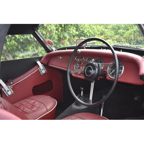 27 - A 1961 Triumph TR3A, unregistered, chassis number TS75124, black. The TR3A with its rugged and hands...