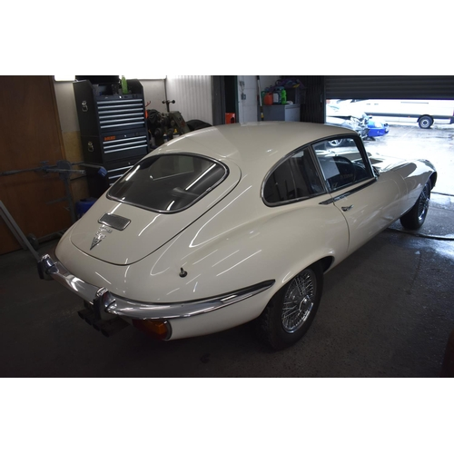 30 - LOT WITHDRAWN:  THIS LOT WILL NOW BE OFFERED IN OUR NOVEMBER AUCTION.  A 1971 Jaguar E-Type Series l...