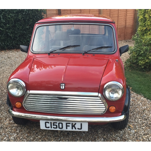 3 - A 1986 Austin Mini 1000 Chelsea, registration number C150 FKJ, red. Introduced in 1985, the Mini Cit...