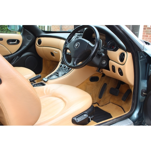 23 - EXTRA LOT:  A 2002 Maserati coupe Cambio Corsa, registration number RV52 YNS, Verde Mistrale.  This ...