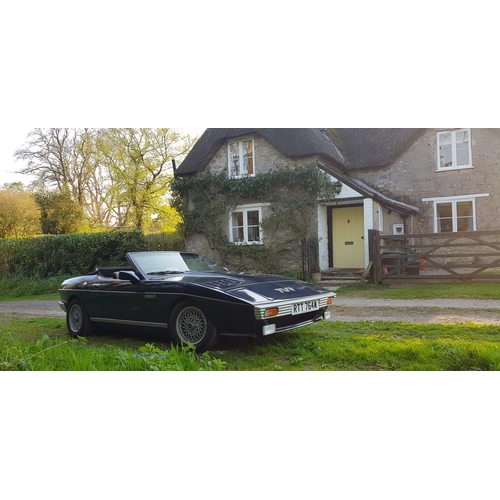 19 - A 1981 TVR Tasmin 280i convertible, registration number RTT 764W, chassis number DH5202F1, engine nu...