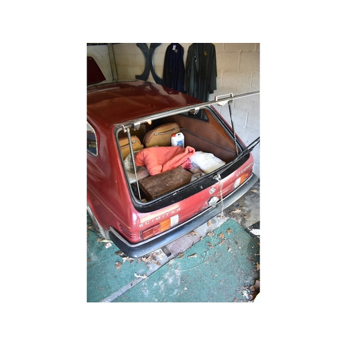2 - A 1975 Reliant Scimitar GTE SE5A project, registration number NYG 93N, chassis number 93X5653, engin...