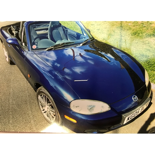 12 - EXTRA LOT: A 2005 Mazda MX5, registration number KG05 BCX, chassis number JMZNB186200411415, Strato ...