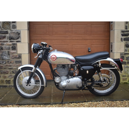 29 - A 1956 BSA Gold Star DBD34, registration number 685 UYY, matching frame and engine numbers. Restored...