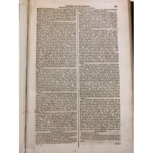 406 - Camden (T) The Imperial History of England, 2 vols, 1811, some foxing and staining, calf, with moder...