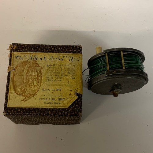439 - An Allcock Aerial reel, boxed
