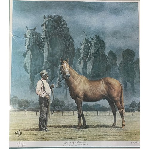 432 - Fred Stone, The Final Thunder, print, 656/695, signed and titled in pencil, 59 x 54 cm