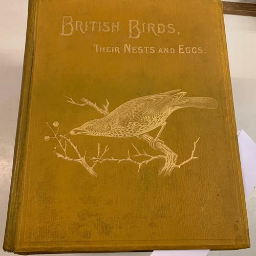 421 - Butler (Arthur G.) British Birds with their Nests and Eggs, six vols, 1896, illus, binding poor