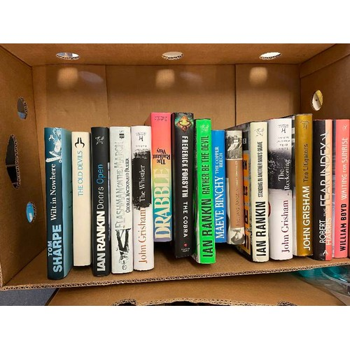 422 - Le Carre (John), Our Kind of Traitor, first edition, Forsyth (Frederick), The Afghan, Grisham (John)...