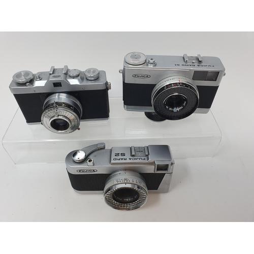 21 - A Leidolf Lord OX camera, Fujica Rapid D1 camera and a Fujica Rapid S2 camera (3)  Provenance: Part ...