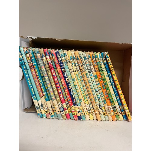 424 - Blyton (Enid), Noddy Goes to Toy Land, 1949, Sampson Low, Marston & Co, No. 1 and the next 23 volume...