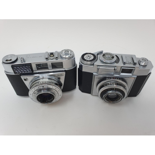 36 - A Kodak Retinette 1 B camera and a Zeiss Ikon camera (2)  Provenance: Part of a vast single owner co...