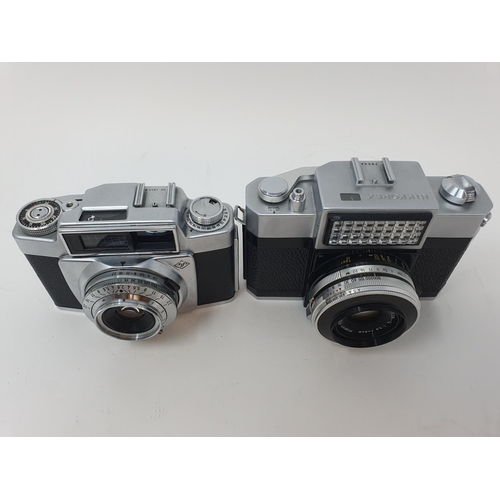 37 - A Nipon Nikkorex camera, serial number 78834 and and Agfa camera (2)  Provenance: Part of a vast sin...