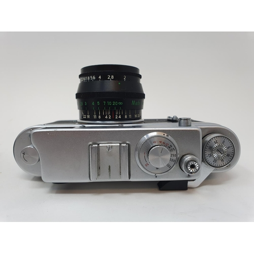 38 - A Zorki-4K camera and a Russian camera (2)  Provenance: Part of a vast single owner collection of ca...