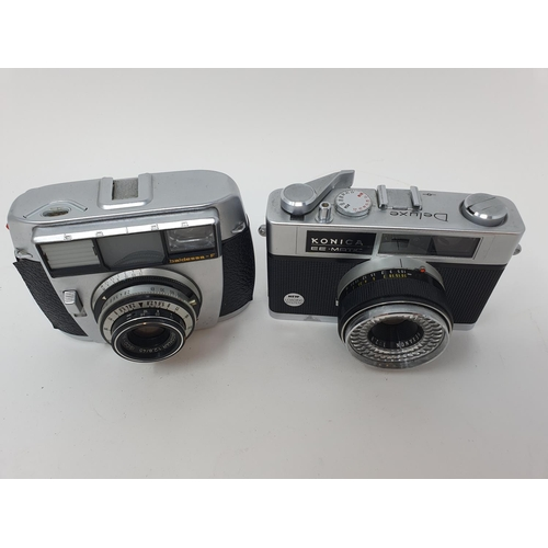 41 - A Baldessa-F camera and a Konica EE-Matic camera (2)  Provenance: Part of a vast single owner collec...