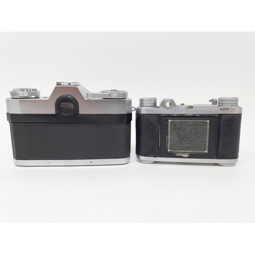 43 - An Altix camera and a Zeiss Ikon camera (2)  Provenance: Part of a vast single owner collection of c...