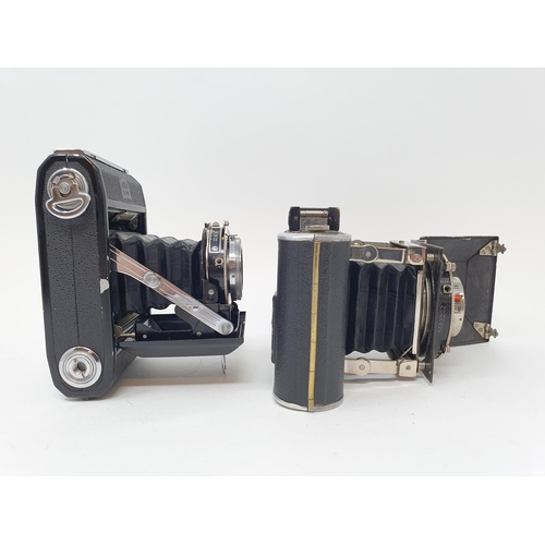 47 - A Zeiss Ikon folding camera and a Korelle folding camera (2)  Provenance: Part of a vast single owne...