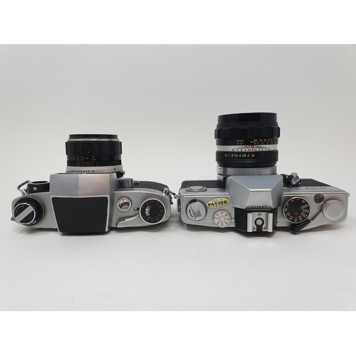 54 - A Miranda Sensorex camera and a Petri FT II camera (2)  Provenance: Part of a vast single owner coll...