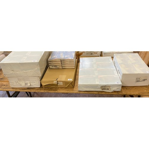 420 - A group of modern books, sealed in plastics wrapping, including Feiss (H) Monastic Wisdom, Miller (H...